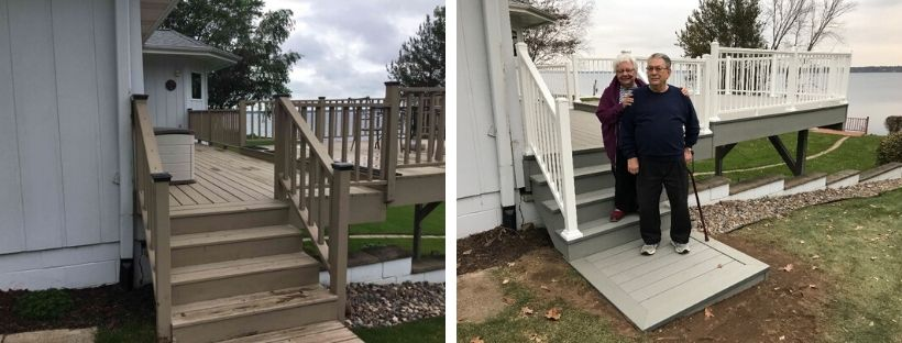 Deck Installation Chippewa Falls, WI