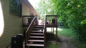 Before - Deck Installation Suamico WI